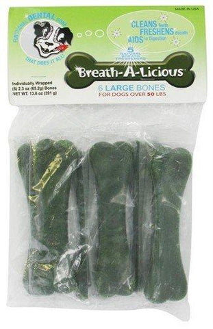 Breath-A-Licious Dog Treat - Large Dogs