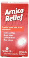 Arnica Relief Supplements Natra-Bio
