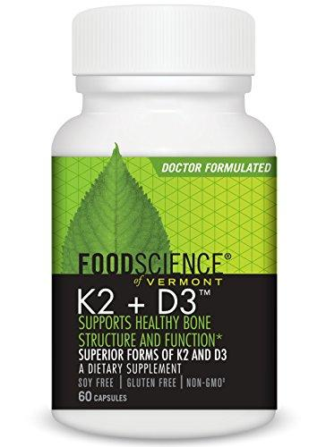 Vitamin K2 Plus Supplements Foodscience Labs  (10030930179)