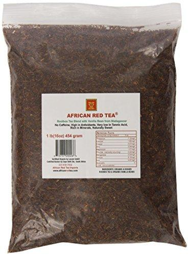 Rooibos Loose Tea Blend w/ Madagascar Vanilla Bean Vitamins & Minerals African Red Tea  (10030496835)
