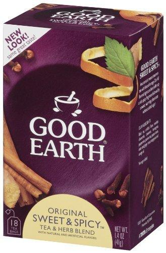 Sweet & Spicy Vitamins & Minerals Good Earth Teas  (10030993731)