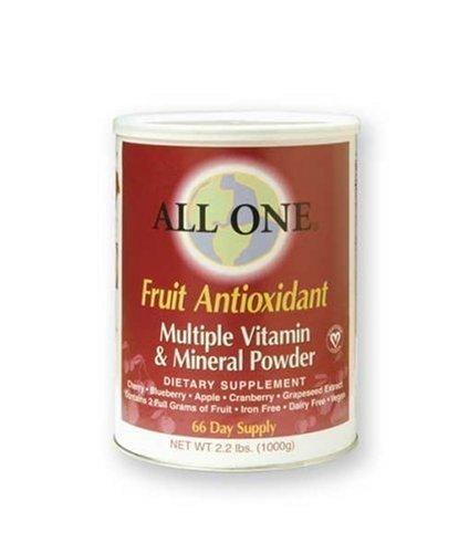 Fruit Antioxidant Multiple Vitamin & Mineral Powder Supplements All One Nutritech  (10030508611)