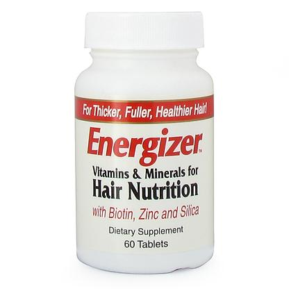 Energizer Vitamins and Minerals for Hair Nutrition Health & Wellness/Hair, Skin & Nails Hobe Labs  (10031090883)