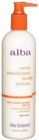 Very Emollient Body Lotion - Daily Shade Formula SPF 16 Personal Care Alba Botanica  (10030500675)