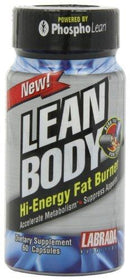 Lean Body Hi Energy Fat Burner Weight Loss Labrada  (10031212803)
