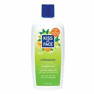Whenever Conditioner Personal Care Kiss My Face  (10031188995)