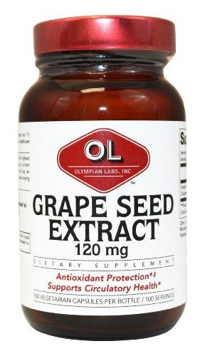 Grape Seed Extract 120 mg Supplements Olympian Labs  (10031586051)