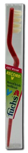 Record V Toothbrush Medium Personal Care Fuchs  (10030942339)