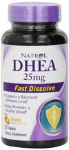 DHEA- 25mg Fast Dissolve Supplements Natrol