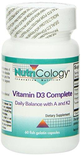 Vitamin D3 Complete Supplements Nutricology  (10031566851)