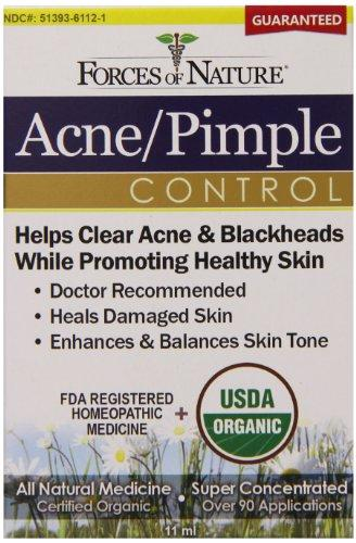 Acne Pimple Control Supplements Forces of Nature  (10030933955)