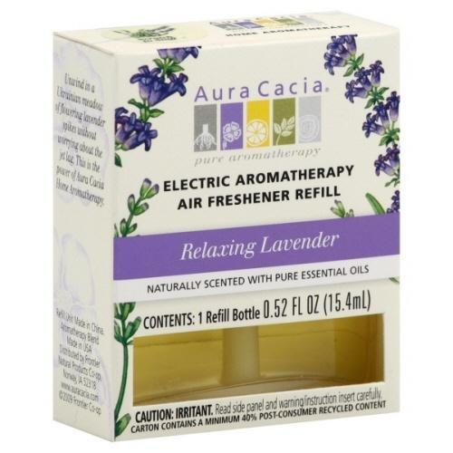 Relaxing Lavender Electric Aromatherapy Air Freshener Refill Health & Wellness Aura Cacia  (10030562243)