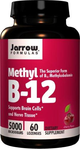 Methyl B-12 5000mcg Supplements Jarrow Formulas  (10031155075)