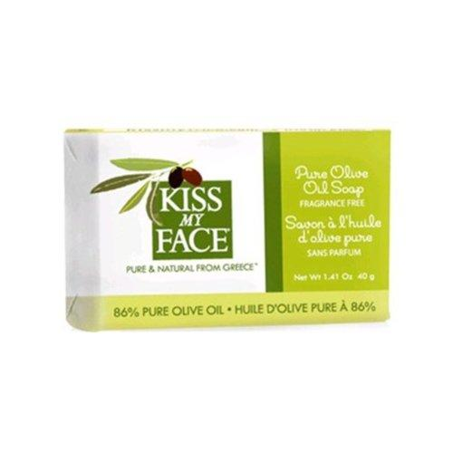 Trial/Travel Size Pure Olive Oil Bar Soap Personal Care Kiss My Face  (10031194435)
