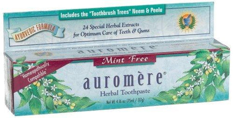 Mint-Free Toothpaste