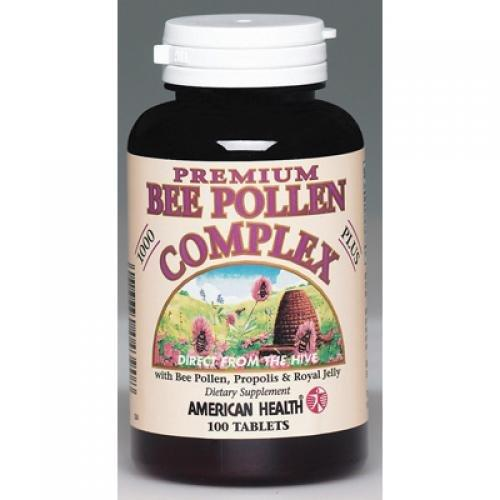 Bee Pollen Complex 1000mg Supplements American Health  (10030531139)