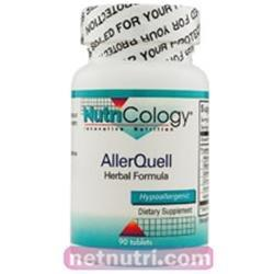 AllerQuell Herbal Formula Supplements Nutricology  (10031558531)