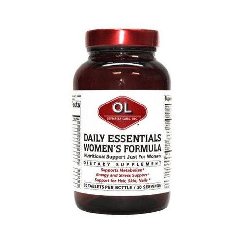 Daily Essentials Womens Formula Supplements Olympian Labs  (10031590595)