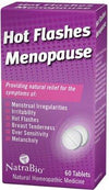 Hot Flashes/Menopause Relief Supplements Natra-Bio