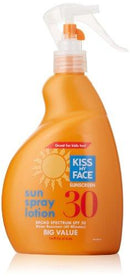 Value Size-Sun Spray Lotion Personal Care Kiss My Face  (10031194115)