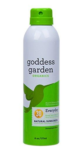 Continuous Spray Sunscreen Personal Care Goddess Garden  (10030992003)