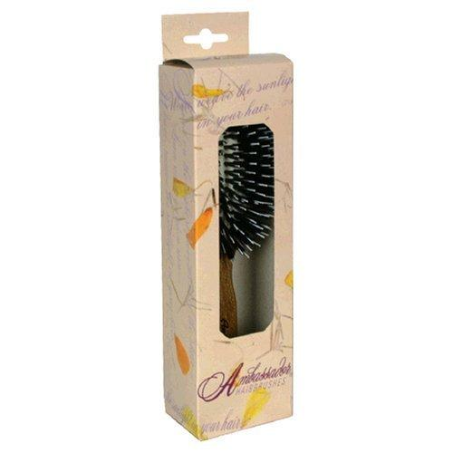 Hairbrush Pneumatic Oval Oak Handle Personal Care Fuchs  (10030941379)