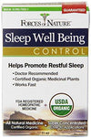 Sleep Well Being Control Supplements Forces of Nature  (10030936195)