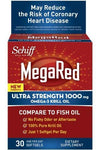 Mega Red 1000mg Supplements Schiff