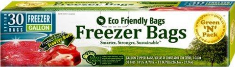 Eco Friendly Gallon Zipper Freezer Bags