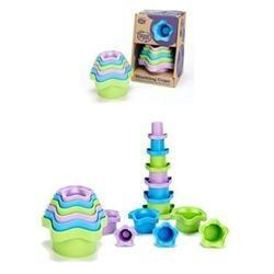 Stacking Cups Health & Wellness Green Toys  (10031004803)