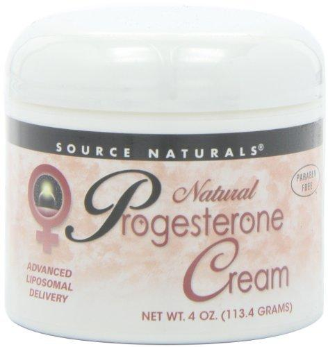 Progesterone Cream Jar Liposomal Supplements Source Naturals  (10031790531)