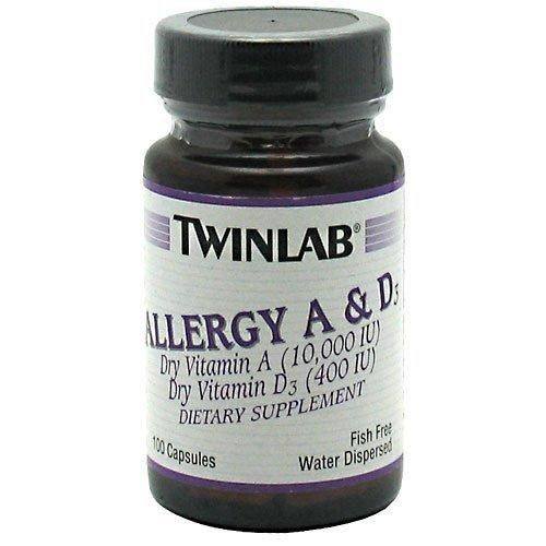 Allergy A and D - 10000 IU/400 IU Twinlab  (10031905667)