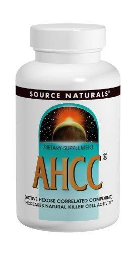 AHCC 500mg Capsules Supplements Source Naturals  (10031797187)