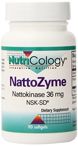 Nattozyme (Nattokinase) - 36mg Clearance/Warehouse Liquidation Sale! Nutricology  (10031557059)