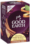 Sweet & Spicy Caffeine Free Vitamins & Minerals Good Earth Teas