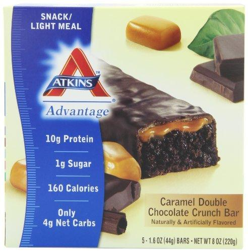 Advantage Bar Caramel Supplements Atkins  (10028743555)
