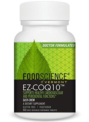 CoQ10 ChewMelt 100 mg Health & Wellness/Antioxidants/Coenzyme Q10 Foodscience Labs  (10030930819)