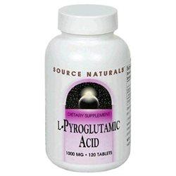 L-Pyroglutamic Acid 1000 mg Supplements Source Naturals  (10031785859)