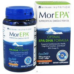 MorEPA Optimal EPA-DHA Formula Supplements Minami Nutrition (GoL)  (10030014851)