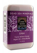 Dead Sea Bar Soap,Lilac Supplements One With Nature  (10030405699)