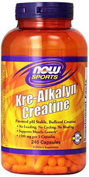 Kre-Alkalyn Creatine Sports Nutrition/Creatine/Kre-Alkalyn Now Foods  (10031526339)