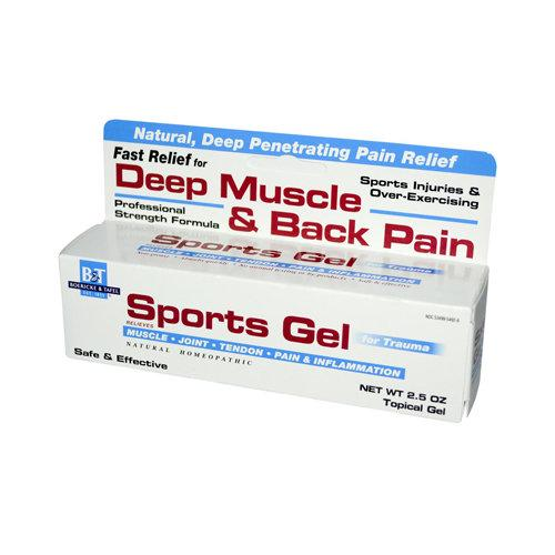 Sports Gel Health & Wellness Boericke and Tafel Homeopathic  (10030637635)