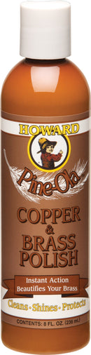Pine-Ola Copper and Brass Polish Supplements Howard Naturals  (10031104515)