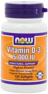 Vitamin D-3 5,000 IU Supplements Now Foods  (10031503619)