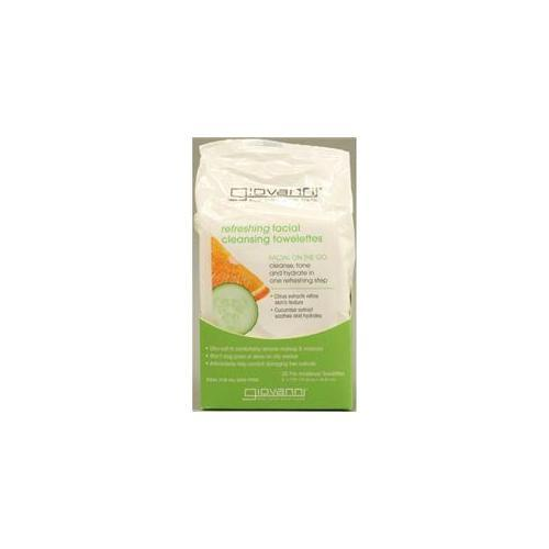 Refreshing Facial Cleansing Towels Personal Care Giovanni Organic Cosmetics  (10030985987)