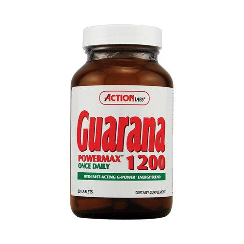 Guarana Power Max 1200 Fat Burner Action Labs  (10030490947)