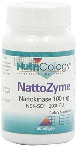 NattoZyme Nattokinase 100 mg Supplements Nutricology  (10031563523)