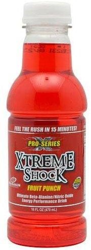Pro Series Xtreme Shock N.O. Energy & Sports Drinks ANSI  (10028725507)