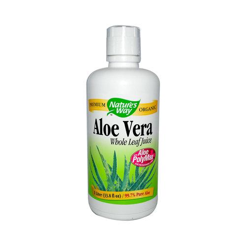 Organic Aloe Vera Juice Vitamins & Minerals Natures Way  (10030183363)