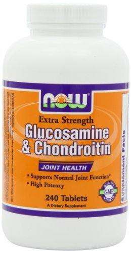 Glucosamine & Chondroitin Extra Strength Health & Wellness/Joint Support/Glucosamine & Chondroitin Now Foods